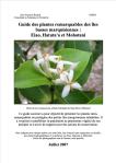 Guide des plantes remarquables des îles basses marquisiennes