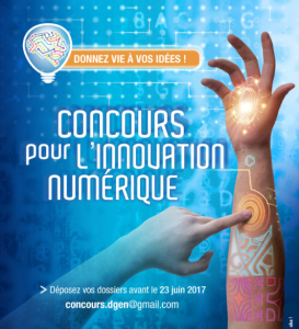 Concours pour l'innovation numérique 2017
