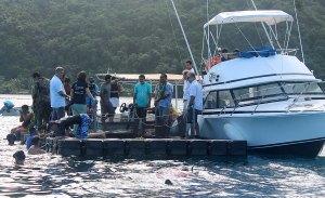 Campagne de réensemencement de poisson Marava